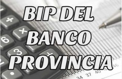 bip del banco provincia