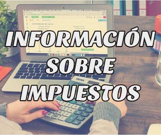 información impuestos