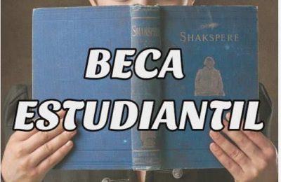 beca estudiantil