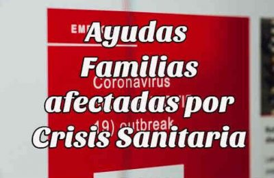 ayudas familias crisis sanitaria