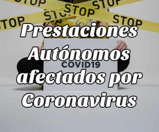 prestaciones autónomos coronavirus