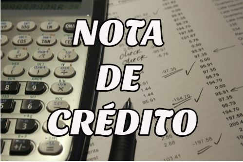 nota de crédito